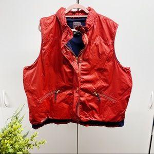 Ralph Lauren Solid Nylon Rainproof Plus Size Vest